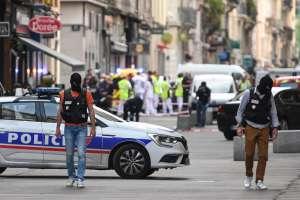 El estallido ocurrió en Lyon a 48 horas de elecciones europeas. Foto: AFP