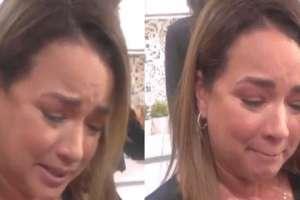 Una noticia sobre su única hija hizo estallar en llanto a la presentadora y actriz. Foto: Instagram