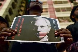 ¿La inculpación de Assange un peligroso precedente para los periodistas?. Foto: AFP