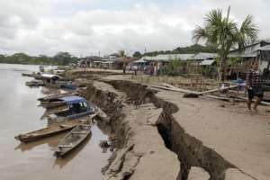 Sismo en Perú deja 2 muertos y 205 familias damnificadas. Foto: AFP