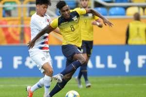 El volante ecuatoriano hizo un golazo en los cuartos de final ante Estados Unidos. Foto: Archivo