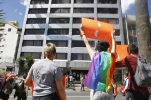 La Constitución prohíbe la adopción para parejas del mismo sexo. Foto: API