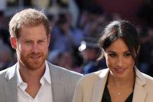 El Príncipe Harry reprende a Meghan Markle. Foto: AP