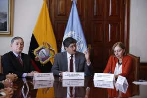 Valencia indicó que el principal grupo migrante que recibe el país viene desde Venezuela. Foto: API