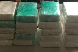Los estupefacientes estaban ocultos dentro de maletas en los contenedores de la embarcación. Foto: Referencial/Internet