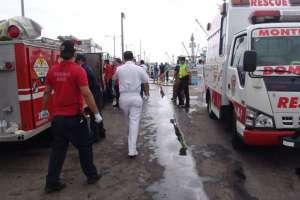 El presupuesto mensual para los bomberos de Manabí es insuficiente. Foto Twitter/ @informado.com.ec