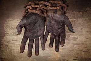 Este año se conmemora el aniversario 400 de la llegada de los primeros esclavos a EE.UU. Foto: AFP