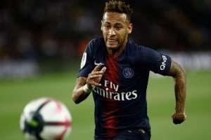 Neymar con el PSG.