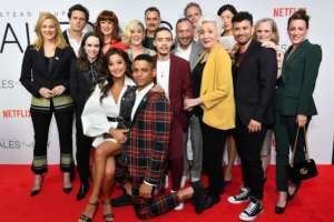 "El diverso elenco de la nueva serie de Netflix ""Tales of the City""."