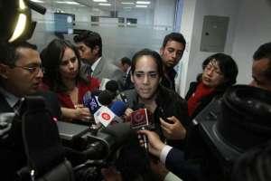 Excandidata a Alcaldía rechaza declaración de Gustavo Bucaram y anuncia acciones legales. Foto: Archivo / Asamblea