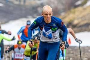 El montañista ecuatoriano Karl Egloff.