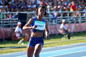 Gabriela Suárez, atleta ecuatoriana.