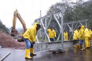 Vía Papallacta - Baeza se habilitará el 28 de junio. Foto: Ministerio de Obras Ecuador