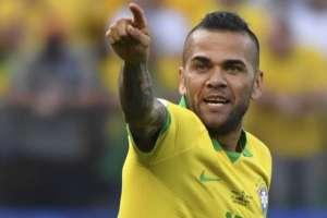 Dani Alves, jugador de Brasil.