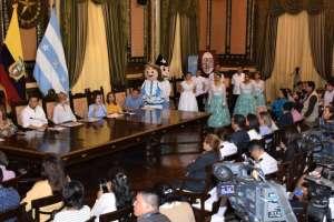 Eventos por los 484 años de fundación de Guayaquil. Foto: Municipio de Guayaquil