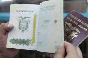 QUITO, Ecuador.- El ciudadano extranjero E.G. fue detenido en Cancillería para fines de investigación. Foto referencial