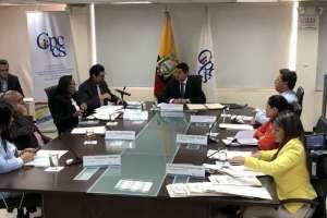 QUITO, Ecuador.- Christian Cruz pidió a Tuárez que se pronuncie sobre las denuncias en su contra. Foto: CPCCS