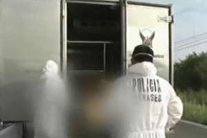 Hallan restos de una mujer en una hielera en El Oro. Foto: Captura de video