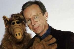 Wright trabajó durante cuatro años en la serie 'Alf'.