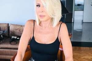 Laura Bozzo persiguió a su ex con un cuchillo. Foto: IG