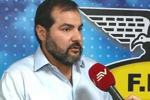 Carlos Manzur, miembro de la Federación Ecuatoriana de Fútbol.