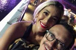 La pareja estuvo en un evento en El Carmen, provincia de Manabí. Foto: Instagram Catherine Velastegui