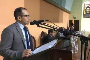 ECUADOR.- Asambleísta Rosa Verdezoto defiende el encargo de Ángel Torres en la Defensoría Pública. Foto: Twitter