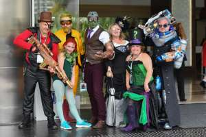 Comic Con de San Diego, edición 2018. Foto: AFP