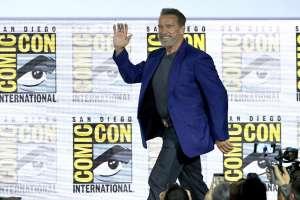 SAN DIEGO, EEUU.- En este evento, Schwarzenegger se declaró adicto a 'Terminator'. Foto: AFP