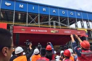 El proyecto está ubicado en la parroquia Tundayme de la provincia de Zamora Chinchipe.Foto: Ministerio de Energía