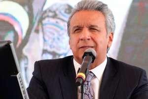 QUITO.- Moreno señaló que el país no puede retroceder en el tema de reinstitucionalización. Foto: Secretaría de Comunicación
