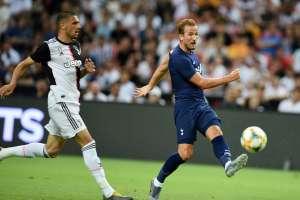 El delantero inglés anotó a los 92 minutos desde la media cancha. Foto: ROSLAN RAHMAN / AFP