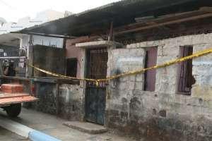 GUAYAQUIL, Ecuador.- Ella vivía en este sitio con sus cuatro hijos, su esposo y su cuñado.