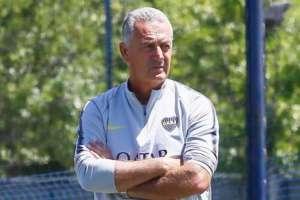 El entrenador de Boca Juniors explicó porque vendrán tres días a Quito. Foto: Archivo