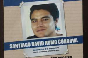 Romo desapareció en mayo de 2013.