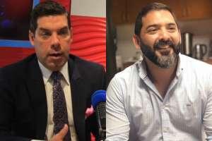 ECUADOR.- Raúl Ledesma (i) se desempañaba como gobernador del Guayas. Collage: Ecuavisa