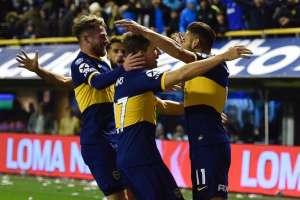 Boca Juniors en su último partido en Argentina. Foto: Twitter Boca Juniors.