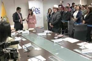 QUITO, Ecuador.- El organismo eligió autoridades, seis días después de la destitución de cuatro miembros. Foto: Twitter