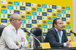 El presidente de la Federación Ecuatoriana de Fútbol aclaró varios temas polémicos. Foto: Tomada de @FEFecuador