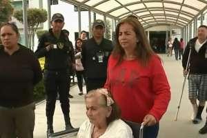 Pacientes del Hospital Pablo Arturo Suárez denuncian falta de insumos.