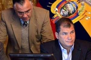 ECUADOR.- Tanto Rafael Correa como Alexis Mera confirmaron la autenticidad de los chats. Foto: Archivo