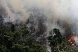 Instituto de Investigaciones Espaciales de Brasil detectó más de 72.800 focos de incendio.