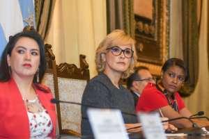 Fiscalía y Judicatura firmaron un acuerdo 'Por Más Seguridad' en Guayaquil.ñ Foto: Twitter