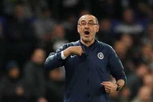 Maurizio Sarri, entrenador italiano.