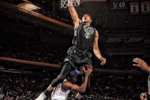 Giannis Antetokuompo, figura de la NBA.