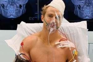 Sage Northcutt, peleador tras su operación.