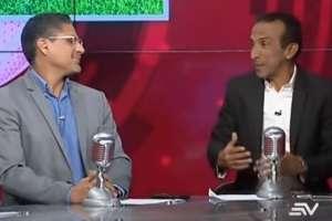 Alfredo Pinargote y Raúl Avilés hablan durante el programa. Foto: Captura de pantalla