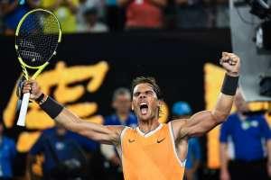 El tenista español superó a la sorpresa del torneo, Stefanos Tsitsipas, en tres sets. Foto: William WEST / AFP