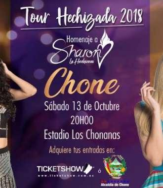 Chone es la primera parada del Tour Hechizada
