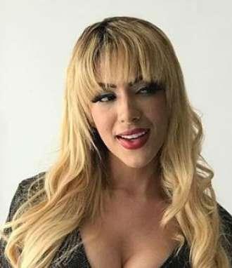 """María Fernanda Ríos se calza de """"Sharon"""""""